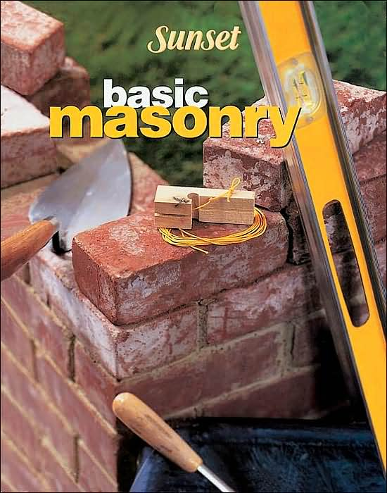 Master the basics of masonry walls and paving. Step-by-step illustrations guide you. Tricks of the trade. Color photos. The latest tools, techniques, and materials to make work easier, safer, and quicker