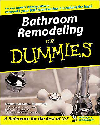 We're a nation of countless bathrooms that are on the brink of being torn apart, redesigned, and remodeled. Bathrooms are big! They've gone from being a convenience to a luxury. Welcome to Bathroom Remodeling For Dummies, where you'll discover how to transform your bathroom from blah to beautiful and inefficient to well-designed.    Remodeling a bathroom is a challenge – it's action-oriented and requires extra energy and stamina. But you, undoubtedly, realize it's a challenge you want to take on. This guide can help if you.   Bathroom Remodeling For Dummies is organized to provide lots of useful information that is easily accessible. You'll uncover tips about:   *Making the most of space in your bathroom   *Taking control and planning the project   *Finding fabulous fixtures, vanities, and faucets   *Decorating the walls, windows, and more   *Creating storage space