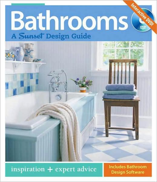 All the latest ideas on design and materials, along with essential remodeling advice from professional bathroom designers, so that you can create a uniquely livable room.   Expert designers: Experienced design and building professionals guide you in getting the bathroom you want on a budget you can afford.   Real-world solutions: Pro-designed baths show the best ways to pull all the elements together to create a cohesive, comfortable space.   At a glance: Clear, concise charts make it easy to choose materials and fixtures based on appearance, durability, ease of installation, and price.   Go green: The latest information on green materials, water and energy conservation, and safety issues.   Bathrooms: A Sunset Design Guide gives you everything you need to create a space design for both form and function.