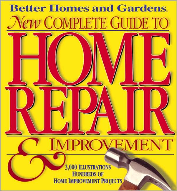Home repair books Better homes and gardens location