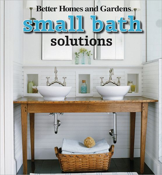 In these tough economic times, more and more people are downsizing their living spaces to smaller, more functional homes. But as typical living quarters become smaller, it doesn't mean that those dwelling in smaller digs need to sacrifice style along with space.   Small Bath Solutions is packed with example bathrooms, galleries of ideas, and tons of projects for readers to bring a big punch to even the smallest bathroom.   *Includes before-and-after photos and design plans   *Helpful advice from professional designers   *Projects showcase a variety of styles, from traditional to cottage to contemporary   *Packed with tips and tricks from the pros for designing small bathrooms that really work, this idea book is perfect for DIYers of any skill level.
