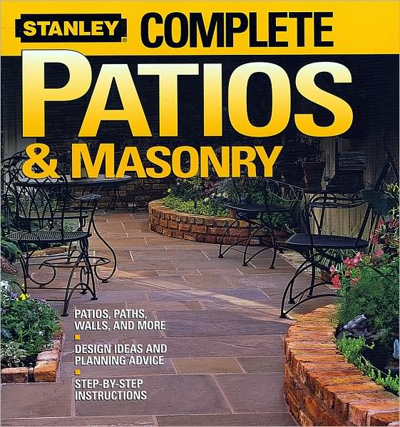 Shows all the tools, materials, and techniques needed to build a variety of popular masonry and concrete projects, including walls, patios, and sidewalks.   *Comprehensive planning and design chapter helps readers successfully prepare for a wide range of projects.   *Detailed instructions—supported by more than 600 photos and illustrations—explain and show readers how to complete every job successfully.   *Priceless tips on maintaining and repairing masonry to ensure a long and attractive service life for every project.