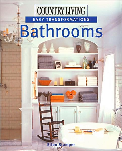 Transforming a bathroom from boring to beautiful is easy with Country Living's help. Every splendid color photograph presents an attractive option, from decorating a fun kids' bathroom to fashioning a luxurious spa right at home. There's no need to begin from the ground up to create a space that meets your needs: you'll find winning ideas to adapt, detailed makeover plans to follow, and simple projects to make. The many looks to choose from include clean, attractive white-on-white, vintage chic, and soothing spaces, filled with soft colors and textures. See how to design and decorate a very small bathroom or one used by two or more people. There are inventive ways to add splashes of color or the warmth of wood, to organize and accessorize, and to adorn wall surfaces creatively.