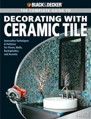 The ceramic tile renaissance continues, and in this major revision of America's best-selling DIY tile book, all the newest designs and installation innovations are included. It's traditional with a twist. Now expanded to 272 pages, this book includes all of the basics and traditional techniques as well as new projects for revamping tile walls with designer accent tiles, dressing up existing drab surfaces with fresh decorative tile, creating wall art with mosaic tiles, designing with large or three-dimensional tiles, using tile to add an artistic element to any room, and working with specialty tile -- to enhance both outdoor and interior living spaces. This book shares all of the designer trends and prized secrets to allow readers to customize their homes with style.   Ceramic tile is the luxury surface of choice for today's homeowners, and Black & Decker® The Complete Guide to Decorating with Ceramic Tile is the only book they'll need to achieve professional-level designer tile installations while saving thousands of dollars.   The book includes more than 700 gorgeous color photos, more than 100 new to this edition. America's best-selling book on do-it-yourself ceramic tile installation just got even better.