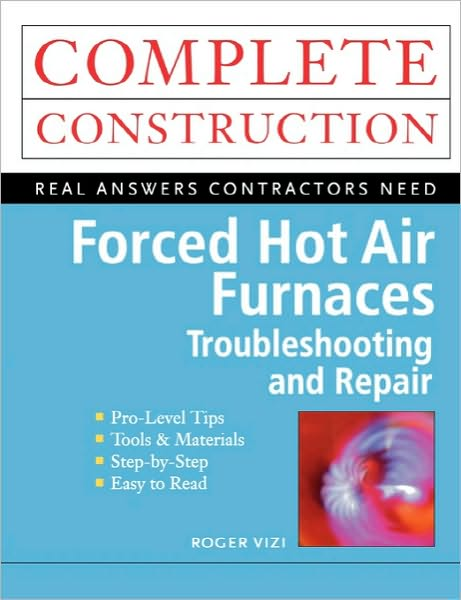 *Complete Troubleshooting & Repairing guide to hot air furnaces    *Complete operation, maintenance, and repair    *Covers gas, oil, and electric forced air systems    *Includes flowcharts and highlighted tips and solutions to common furnace problems