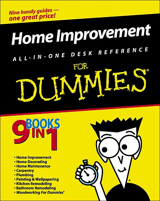 Put on your grubbies, get out your tools, and get ready to tackle home repairs and improvements with the goof-proof instructions in this guide that combines the best of nine For Dummies home improvement books in one comprehensive volume. Whether you�re an accomplished do-it-yourselfer or a novice, the easy-to-follow instructions, complete with photos and illustrations, will guide you through