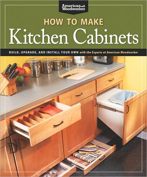 Shop-tested expert advice for amateur woodworkers on how to build their own kitchen cabinets, and on how to make and install kitchen upgrades, culled from 35 articles that appeared in American Woodworker magazine, originally published between 1999 and 2010. American Woodworker has made its mark as the go-to magazine for woodworkers building and installing built-in cabinetry for kitchens and similar spaces in the home. Readers will learn how to make cabinets from plywood, how to make many styles of cabinet door including popular cathedral doors, how to build and install drawers, which hardware to choose, how to make and edge laminate countertops, and how to install the completed results. Includes small projects such as simple kitchen upgrades, plus an appliance garage, a kitchen stool and a freestanding pantry.