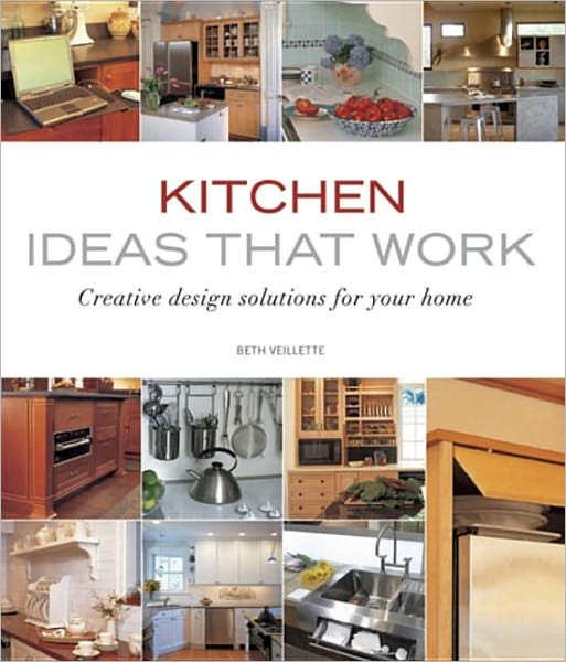 The home you've always dreamed of starts here! Kitchen Ideas that Work combines fresh ideas with professional design advice so you can create the kitchen you've always wanted. No other book on the market offers this much useful information and fresh inspiration for less than $20.    Kitchens are more than where we cook a meal and wash dishes. It's where our day begins and ends, where family gathers for conversation, homework, and snacks, and where we entertain friends. With the prominence of this space in both our homes and our lives it's no wonder that kitchen remodeling is the number one home improvement project.    Kitchen designer Beth Veillette provides professional design advice for kitchens and budgets from small to large. Throughout the book she offers design options for all components found in the kitchen as well as how to successfully combine them to create a great kitchen. A wide range of styles, materials, and layouts are featured in hundreds of photos that provide fresh ideas for everything from the floor material to wall color, lighting to seating, and appliances to window treatments.