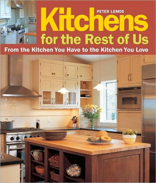"Real kitchens for real people.    Most of us think ""break the bank"" when we hear ""kitchen remodel."" But as Peter Lemos, former editor of ""Home"" magazine proves in ""Kitchens for the Rest of Us,"" it is possible to make over a ho-hum kitchen into the cooking center of your dreams. In this inspiring and practical guide, Lemos walks readers through 20 challenging kitchen remodels all modest in size and budget. Using a template of 5 basic steps, from taking stock to finding your style, to working with pros, to defining your space, to making it happen, Lemos shows how homeowners made the most of their resources, chose wisely when it came to splurges, and ultimately found a way to realize their dreams. In the process of demystifying this often stressful experience, Lemos serves up a wide variety of design solutions for kitchens that represent a range of styles from across the country."