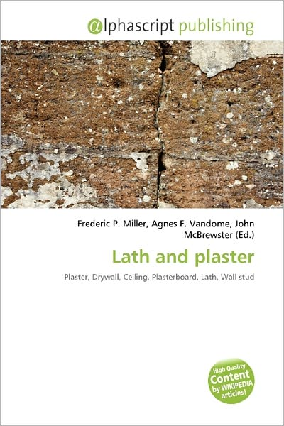 High Quality Content by WIKIPEDIA articles! Lath and plaster is a building process used mainly for interior walls in Canada and the United States until the late 1950s. After the 1950s, drywall began to replace the lath and plaster process in the United States. In the United Kingdom, lath and plaster was used for some interior partition walls, but was mostly used in the construction of ceilings. In the UK, plasterboard became a more common ceiling construction from 1945 onwards.