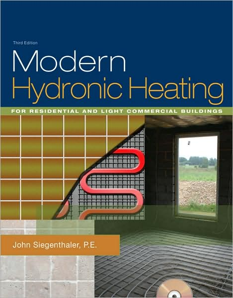 From simple applications to multi-load / multi-temperature systems, learn how to use the newest and most appropriate hydronic heating methods and hardware to create system the deliver the ultimate in heating comfort, reliability, and energy efficiency. Heavily illustrated with product and installation photos, and hundreds of detailed full-color schematics, MODERN HYDRONIC HEATING, 3rd EDITION is a one-of-a-kind comprehensive reference on hydronic heating for the present and future. It transforms engineering-level design information into practical tools that can be used by technical students and heating professional alike. This revised edition features the latest design and installation techniques for residential and light commercial hydronic systems including use of renewable energy heat sources, hydraulic separation, smart circulators, distribution efficiency, thermal accumulators, mixing methods, heat metering, and web-enabled control methods. Everyone involved in the heating trade will benefit from this preeminent resource of the North American heating industry. It is well-suited for use in a formal education course, self-study, or as an on the job reference.