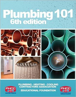 When you expect simple, straightforward explanations for real-world plumbing scenarios, look no further than PLUMBING 101, 6th EDITION. This book is the first-year title in a four-year series of plumbing apprentice training books developed in partnership with the Plumbing-Heating-Cooling Contractors (PHCC) Educational Foundation. The series takes a spiral approach to address critical plumbing concepts, in which topics are introduced in the first year book, and are revisited in more detail in subsequent books in the series. This is ideal for anyone new to the field, as it mimics the most common learning experience: as plumbing apprentices and professionals gain more field experience, they gain more in-depth knowledge. This first book encompasses both residential and commercial plumbing, with core content centering around basic plumbing principles and codes. Updates to the sixth edition include new sections on brazing safety procedures and water heaters, expanded content on plumbing rough-in practices and career path possibilities, and updates throughout to reflect emerging topics and technology in the plumbing field. The end result is a foundational book for new plumbing apprentices or professionals with more value than ever.