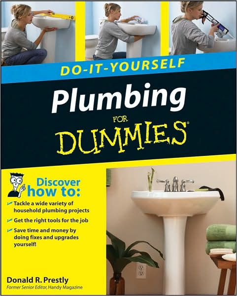 Want to save time, money, and frustration on plumbing repair and replacement? Do it yourself! Plumbing Do-It-Yourself For Dummies turns even the most daunting household plumbing project into a simple, step-by-step process that delivers professional-quality results at a fraction of what you'd have to pay a plumber—and you won't have to wait weeks for an appointment.   From fixing leaks and drips to caulking a tub or shower, to replacing a faucet, you'll discover how to tackle 40 of the most common plumbing jobs in your home. Easy-to-follow, detailed instructions and hundreds of photos and illustrations guide you through each task. And, you'll even discover what surprises to expect and how to prepare for them. This user-friendly guide delivers all the help you need to:   *Understand your home's plumbing system   *Comply with local plumbing codes   *Fill your plumbing toolbox—including safety equipment