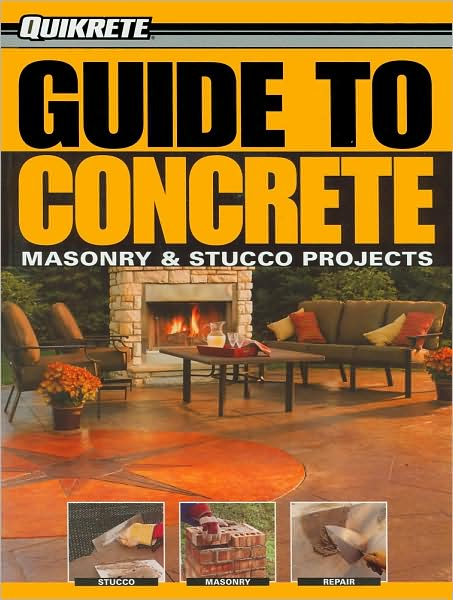 This book is an all-new hardworking visual guide to the most popular home concrete and masonry projects, endorsed by the biggest manufacturer of concrete products in North America. Readers can save hundreds or even thousands of dollars with this book, since concrete materials are one of the least expensive and long lasting of all building materials.   Quikrete Guide to Concrete includes the most common home repairs, but goes a step further by offering some of the most exciting new techniques for building concrete countertops and form-cast landscaping features, as well as techniques for coloring and texturing concrete for designer finishes.