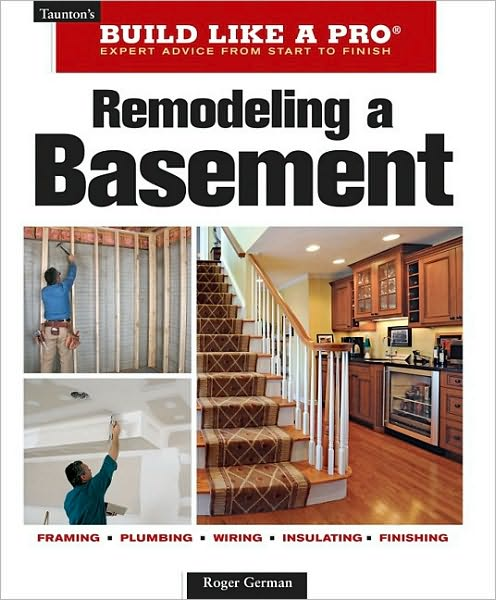 "Finishing a basement is one of the easiest and most cost-effective ways to increase living space and the value of a home. This new edition of a classic bestseller is updated to the latest code. The book includes new information about egress windows and takes readers through the entire remodeling process, showing how to construct new family rooms, bathrooms, laundry rooms, workshops, and hobby rooms. Filled with inspiring photos of finished basements, the latest ""Build Like a Pro"" release is packed with nuts-and-bolts information about wiring, plumbing, windows, and doors, as well as basic construction techniques and the special problems that arise with basement building. This hands-on guide will help homeowners and contractors get the job done right the first time."