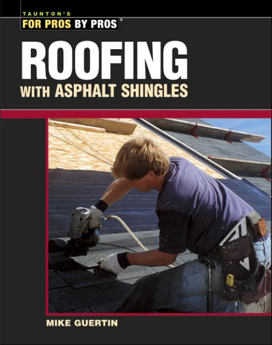Asphalt is the most common roofing material in North America. This book is an in-depth guide to working with it — whether the reader is a professional installing a brand-new roof or a do-it-yourselfer simply making necessary repairs.