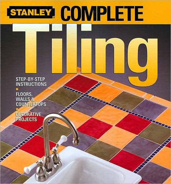 *Detailed photos and easy-to-follow presentations for tiling floors, walls, countertops, and showers guide novices and experts alike.   *A two-tiered design offers instruction for common tiling situations plus additional information for unusual circumstances.   *This comprehensive guide covers basic and advanced tile techniques to plan patterns, measure and cut tiles, seal finished surfaces, and repair broken tile.   *Pre-start checklists detail the tools, materials, skills, and time needed to complete each job, while Stanley Pro Tips offer shortcuts to work easier, faster, and safer.   *Includes installation instructions for all types of ceramic tile, plus vinyl, laminate, carpet, and parquet tile products.