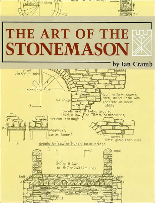 "Drawing on five generations of family tradition as stonemasons in his native Scotland, Ian Cramb created this masterful work to pass on his knowledge and experience to craftsmen who wish to learn the ancient, but still necessary, principles of the stonemason's art. Since original publication by Betterway Books in 1992, this book has established itself as an essential learning tool for masons doing new construction and also those engaged in restoration of historic stone structures.   Beginning with a detailed discussion of building with ""random rubble"", which is the name for the early Celtic art of building with irregular stones bedded on mortar, the author proceeds to more complex projects such as fireplaces, stairs, arches, bridges and more. There is extensive treatment of various restoration techniques involved with historic structures both in the US and Britain, some as old as 1000 years. In addition the author covers various types of stone, stone-cutting, etc. as well as using tractional mortar mixes, which have demonstrated their utility in stone walls and buildings which have lasted for many centuries.   The Art of the Stonemason is profusely illustrated with the author's meticulous line drawings and photographs.   Ian Cramb began his apprenticeship at the age of 14 in Dunblane, Scotland. Surrounded by large estates, farm buildings, a ruined 13th century bishop's palace, two large fifteenth century castles, a Gothic cathedral, and numerous other stone buildings, Dunblane was an apprentice stonemason's paradise. In 1957 Mr. Cramb took over as master stonemason on the restoration of the monastic buildings around the abbey on Iona. He rebuilt the cloisters, restored St.Michael's Chapel, and also restored St. Oran's Chapel in the Cemetary of Kings, built in 1075. In 1959 Mr. Cramb moved to the US where he set stone and marble on the Capitol building, and then he acted as stone and marble mason for the Raeburn Building and World Bank Building in Washington, DC. He now lives in Bangor, Pennsylvania."