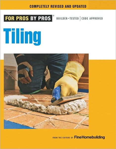 Relatively affordable as DIY projects go, tiling is also one of the most popular among homeowners. New tile can cover a multitude of sins and transform a space — from tiny entry to spacious kitchen — in a matter of hours, if it's done properly. This book presents all of the information needed to take on a tiling project from start to finish, including planning and layout, installation, and upkeep — from tiling a kitchen counter or outdoor patio, to installing glass block in a shower, on a curve. From the FOR PROS BY PROS series, this book delivers pro-rated instruction guaranteed to get the job done right the first time.