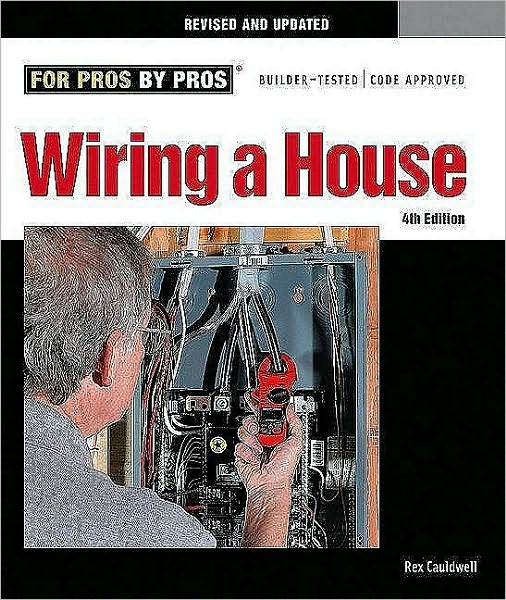 Since it was first published in 1996, Wiring a House has become the standard reference on residential wiring. Updated to the latest National Electrical Code, this fourth edition features revised information on backup generators, AFCIs, GFCIs, tools, and room-by-room wiring. An indispensable reference for keeping pros up to date, Wiring a House also gives apprentices and homeowners the most current and accurate information in the most accessible form.